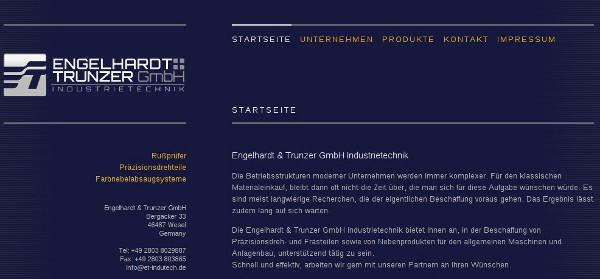 Engelhardt & Trunzer GmbH Industrietechnik