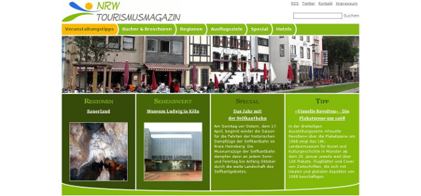 NRW Tourismusmagazin